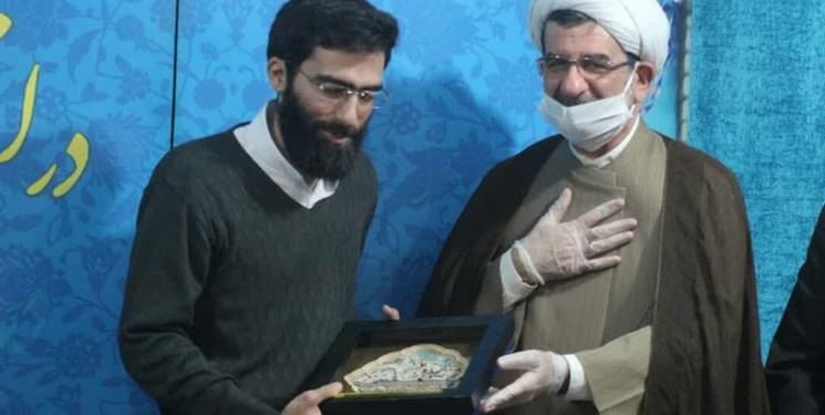 تجلیل از خدمات ارزنده سردار دیپلماسی مقاومت از سوی مسجد جمکران