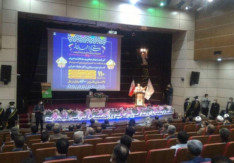 افتتاح وبهره برداری ۱۱۰ پروژه شهری قم همزمان با دهه کرامت