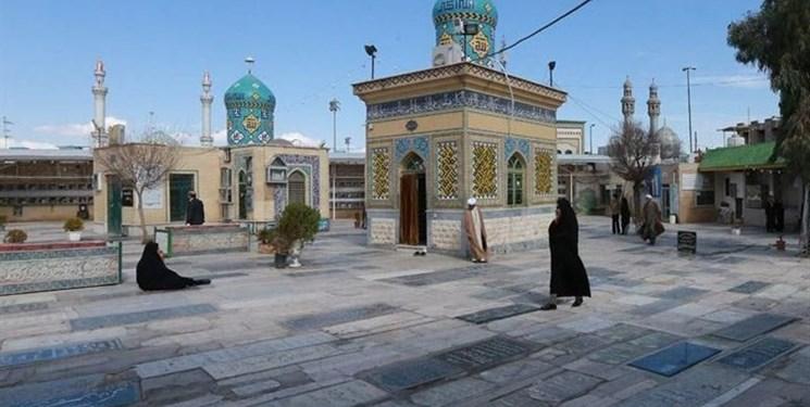 نمایشگاه «تکهای از آسمان» در مزار شیخان برپا شد