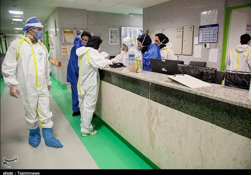 حضور دکتر امیرآبادی نماینده مردم قم در مجلس شورای اسلامی و دکتر قدیر رییس دانشگاه علوم پزشکی در بیمارستان شهدا