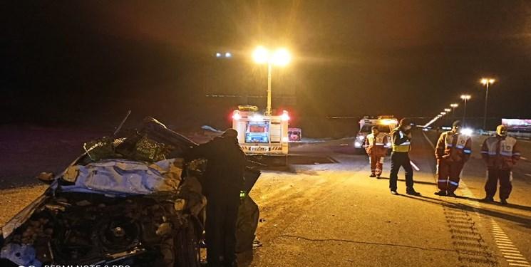 امدادرسانی هلال احمر قم به ۱۳ حادثه دیده تصادفات جادهای