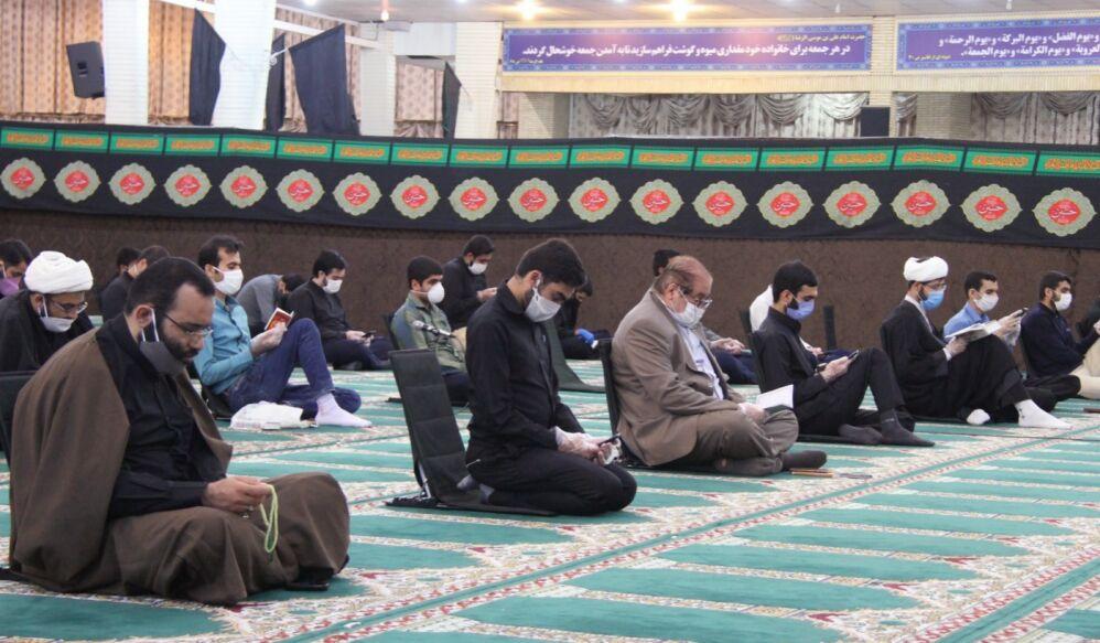 برگزاری مراسم عزاداری محرم درفضای باز مجموعه شهید حیدریان قم