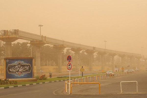 آسمان قم طی روزهای آینده غبارآلود است