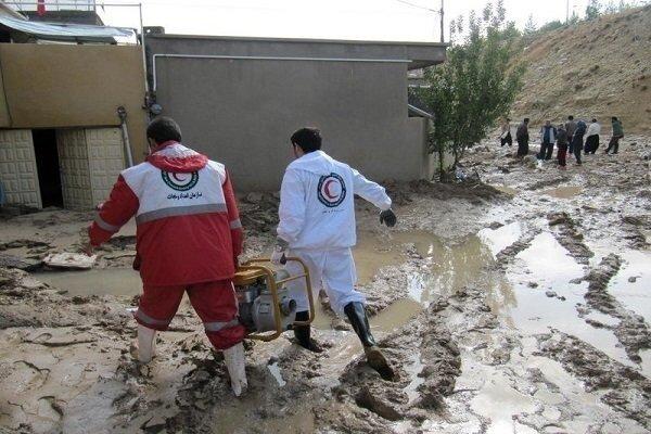 امداد رسانی هلال احمر به مصدومان ۲۰ حادثه در قم