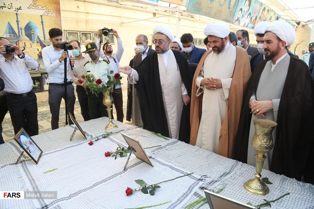 بزرگداشت شهدای هفتم تیر در گلزار شهدای شیخان